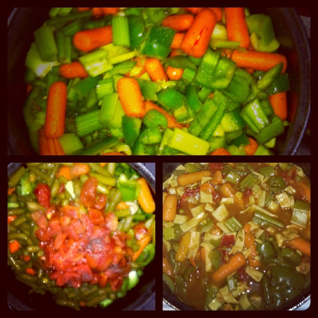 Sacred Heart Diet, made the soup last night. I can definitely eat this for a week. It's delicious!