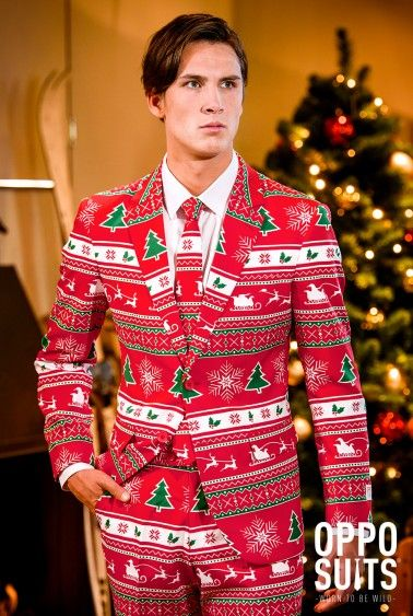 Christmas Suits | Ugly Christmas Sweater Suits | OppoSuits