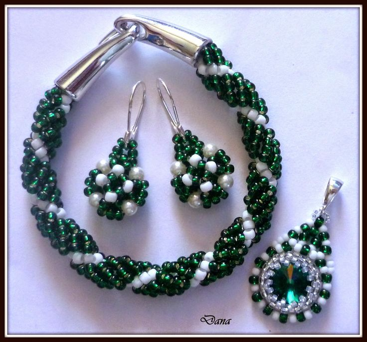 Komplet Green Emerald