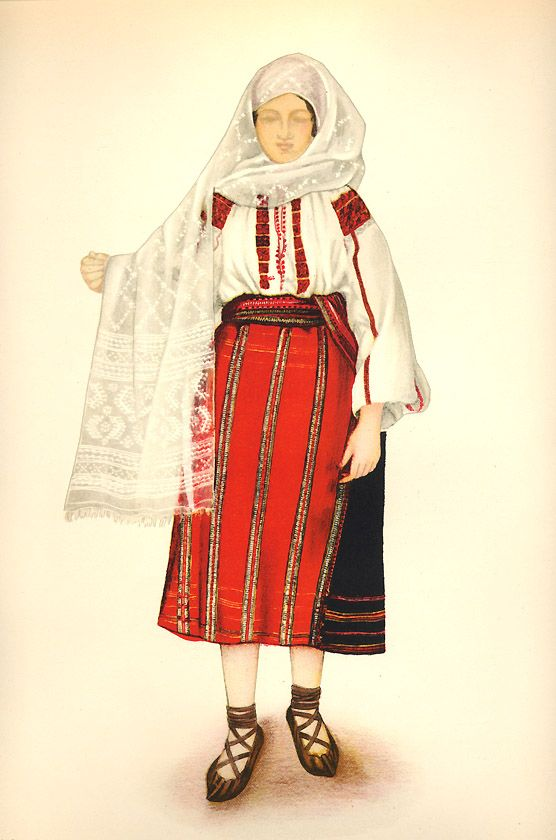 Romania Gallery / Tărancă din Bran Transilvania - Peasant Woman from Bran Transylvania