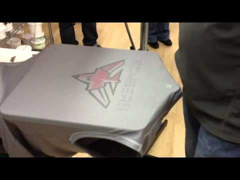 Screen Printing On Polyester Mesh Jerseys - YouTube