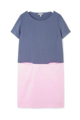 Silk dress with cotton #cos #summerclothes #dress