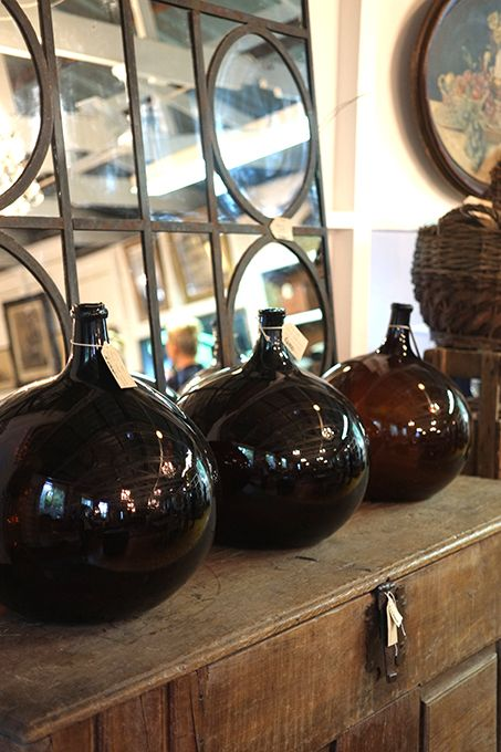 Antique French Blown Glass R6,700.00 each