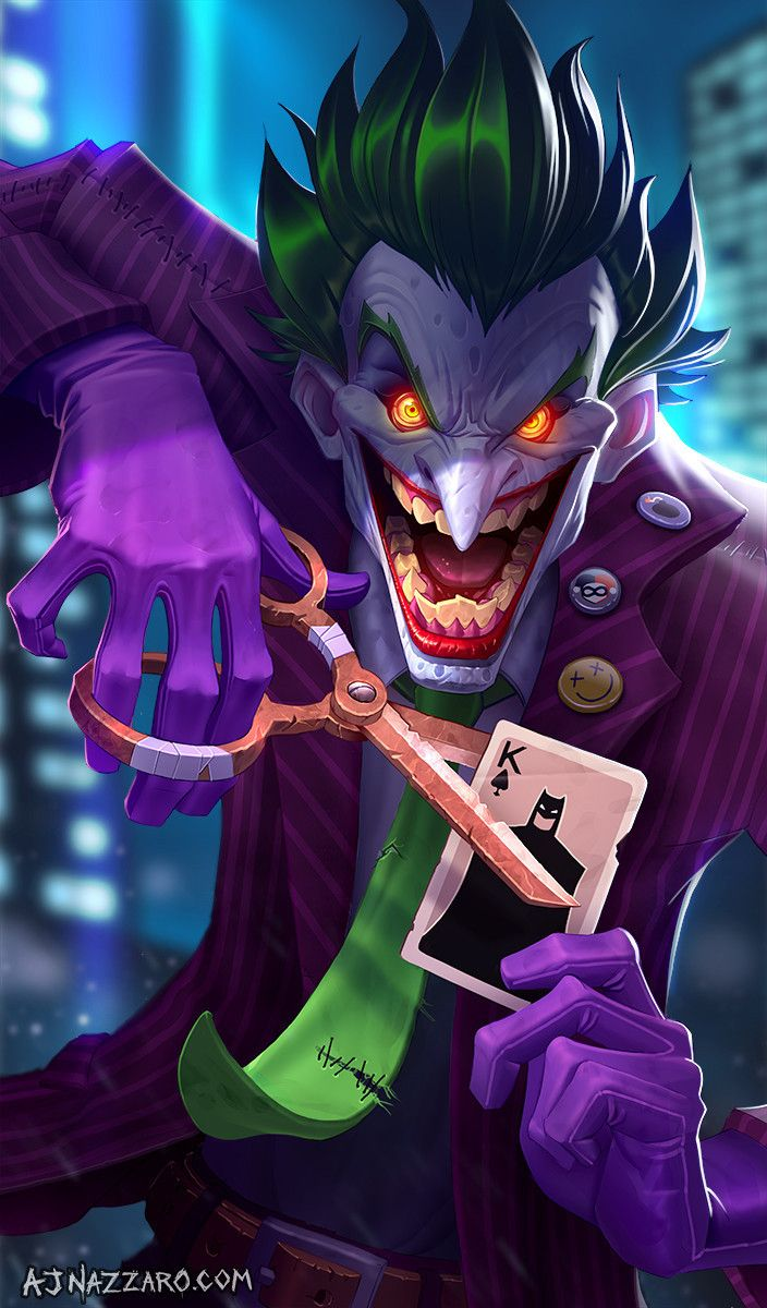 The Bat Blog | batmannotes:   The Joker by  AJ Nazzaro