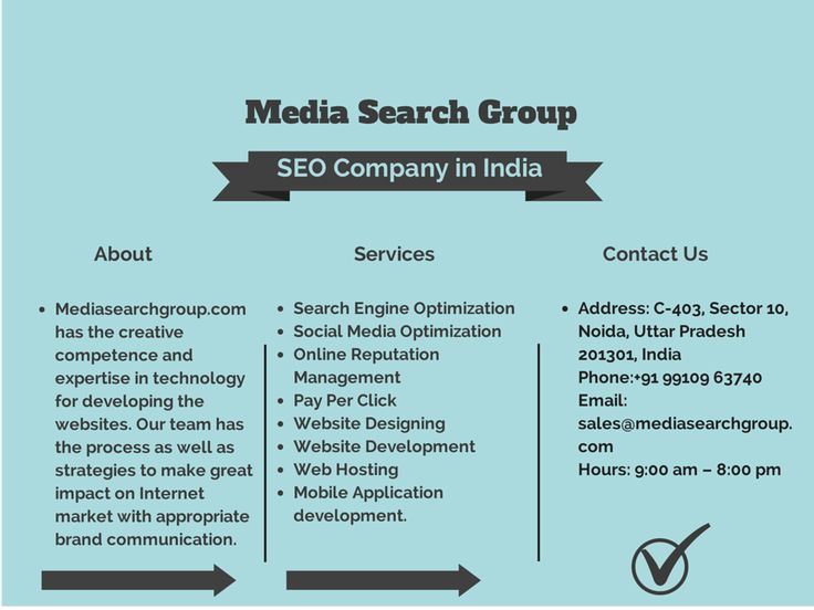 Media Search Group Infographics