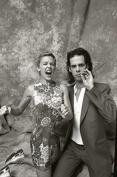 Nick Cave and Kylie - Black and White - Tony Mott... You're welcome!