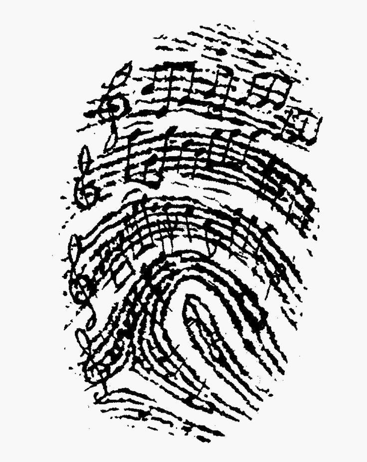My thumb print. #violinfunny