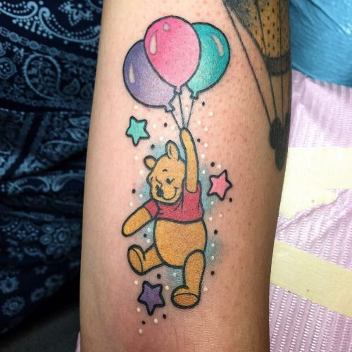 1000 images about cool tattoos on pinterest disney for Winnie the pooh tattoo
