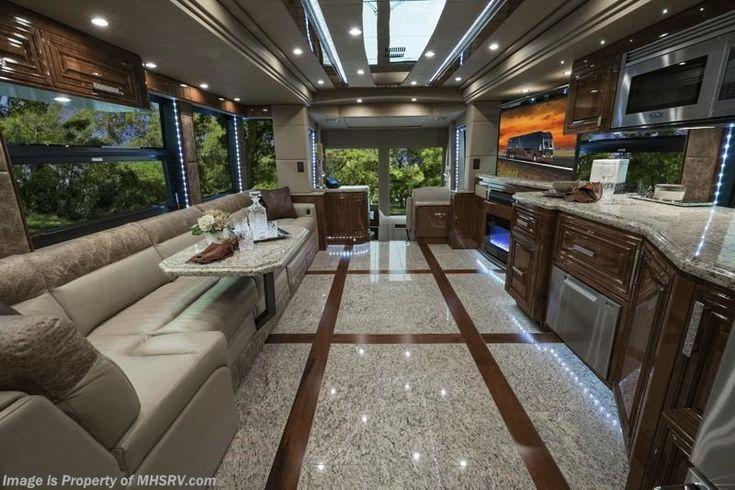 2017 Prevost Motorhomes Interior Luxury