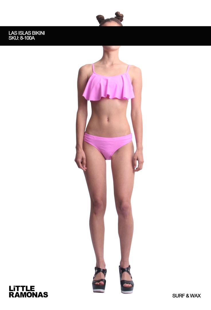 Las Islas Pink Bikini www.littleramonas.com