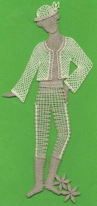 Paličkovaná krajka < Obrázky a obrazy   LUTA - lidová umělecká tvorba