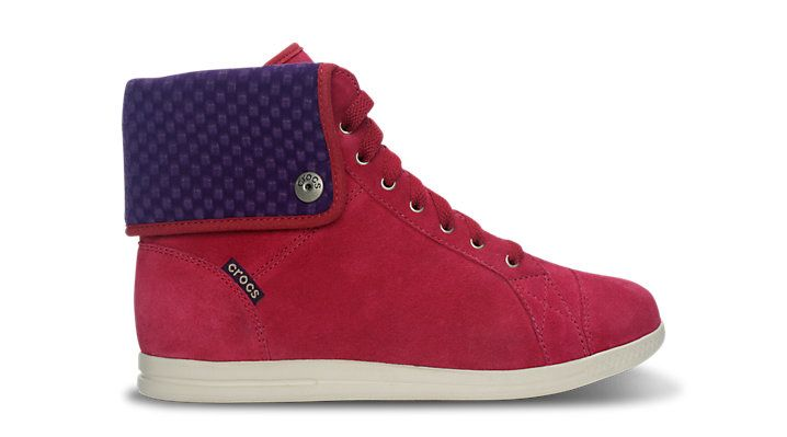 Women's LoPro Suede Hi-top Sneaker prix promo 79,99 € TTC sur Crocs.fr