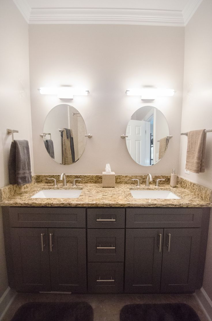 Bathroom Makeover - Bathroom Remodel - Re-Bath Remodel - Bathroom Trends -  Double Vanity