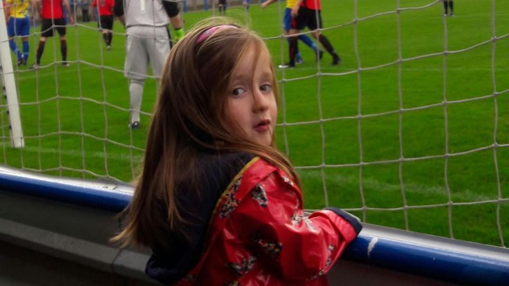Four-year-old Clara Walker inspired to be a referee at Garforth Town #News #ClaraWalker #composite #Football #GarforthTown