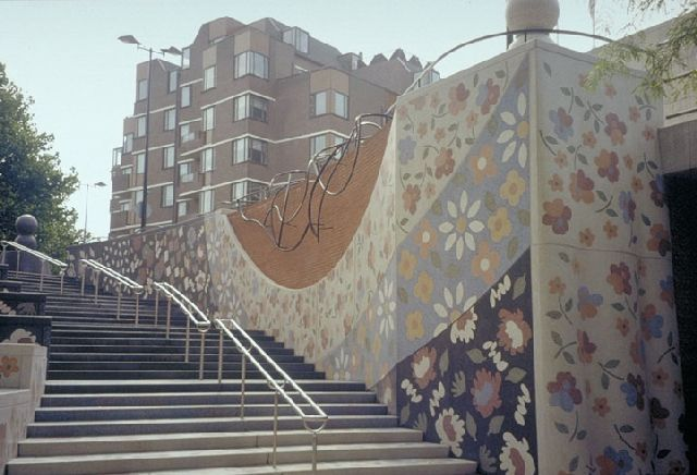 Vlaardingen <3 Spaanse trappen,Liesveld.