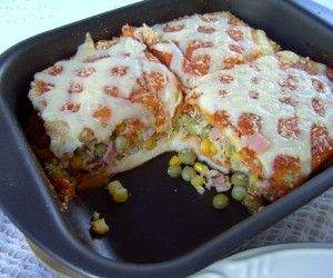 Sanduíche de forno rápido e delicioso