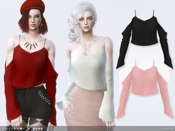 The Sims Resource: Kaliah by toksik • Sims 4 Downloads