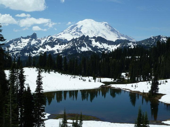 Mt. Rainier. All seasons....take me to the top.