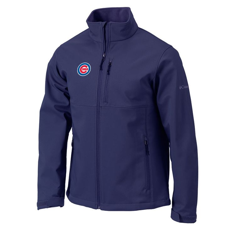 Chicago Cubs Ascender Softshell Jacket by Columbia Sportswear
