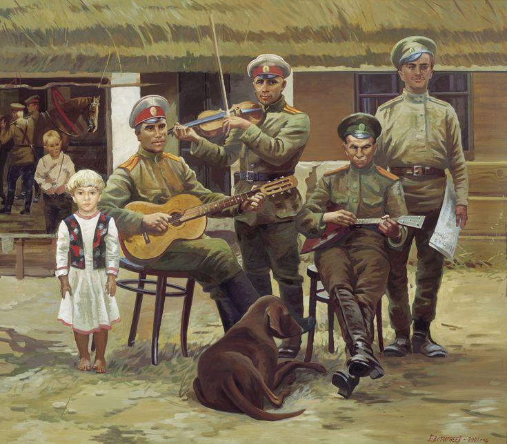 первом военная живопись картинки вкусным был