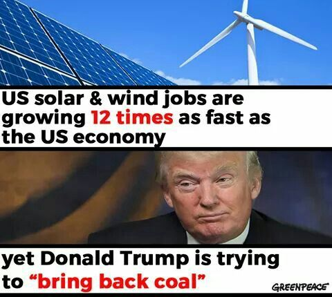 He is so ignorant of the reasons most of his agenda are hurting us all and our planet. Even his little buddies, the 1%.