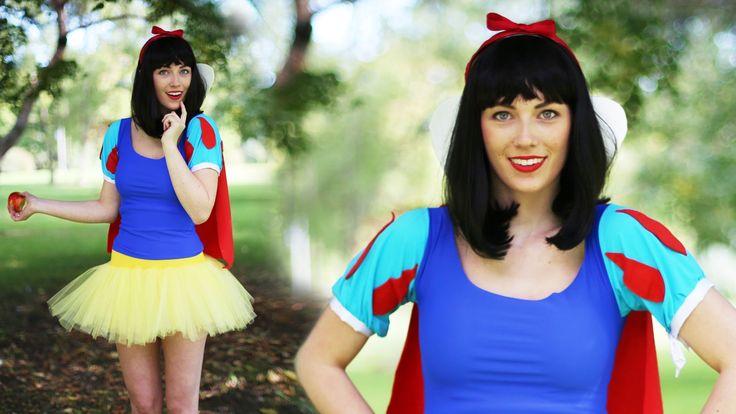 video tutorials for diy disney princess costumes