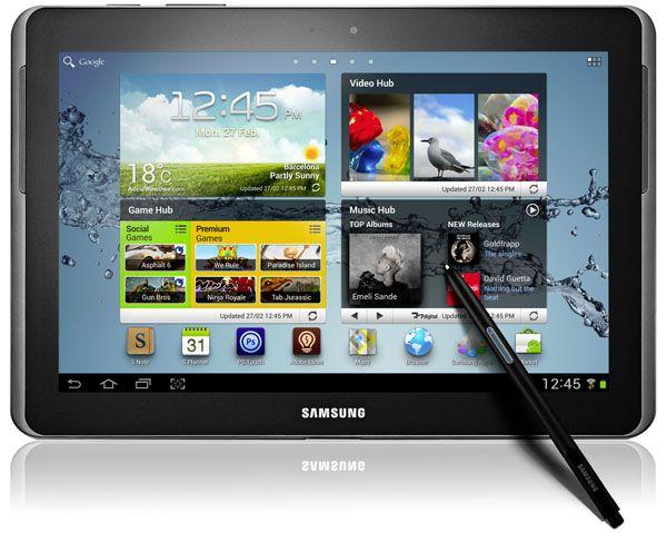 Samsung presenterar releasedatum i Sverige för Galaxy Note 10.1 med quadcore-processor