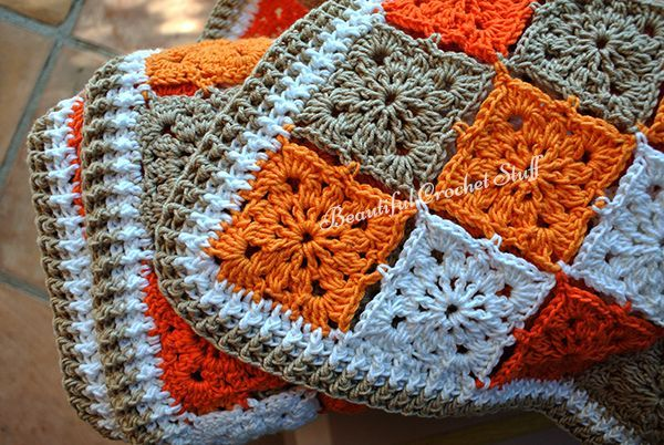 Free Crochet Blanket Pattern at Beautiful Crochet Stuff. ☂ᙓᖇᗴᔕᗩ ᖇᙓᔕ☂ᙓᘐᘎᓮ http://www.pinterest.com/teretegui