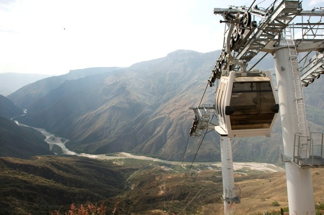 Aerial Tramway, Chicamocha Canyon, Santander, Colombia
