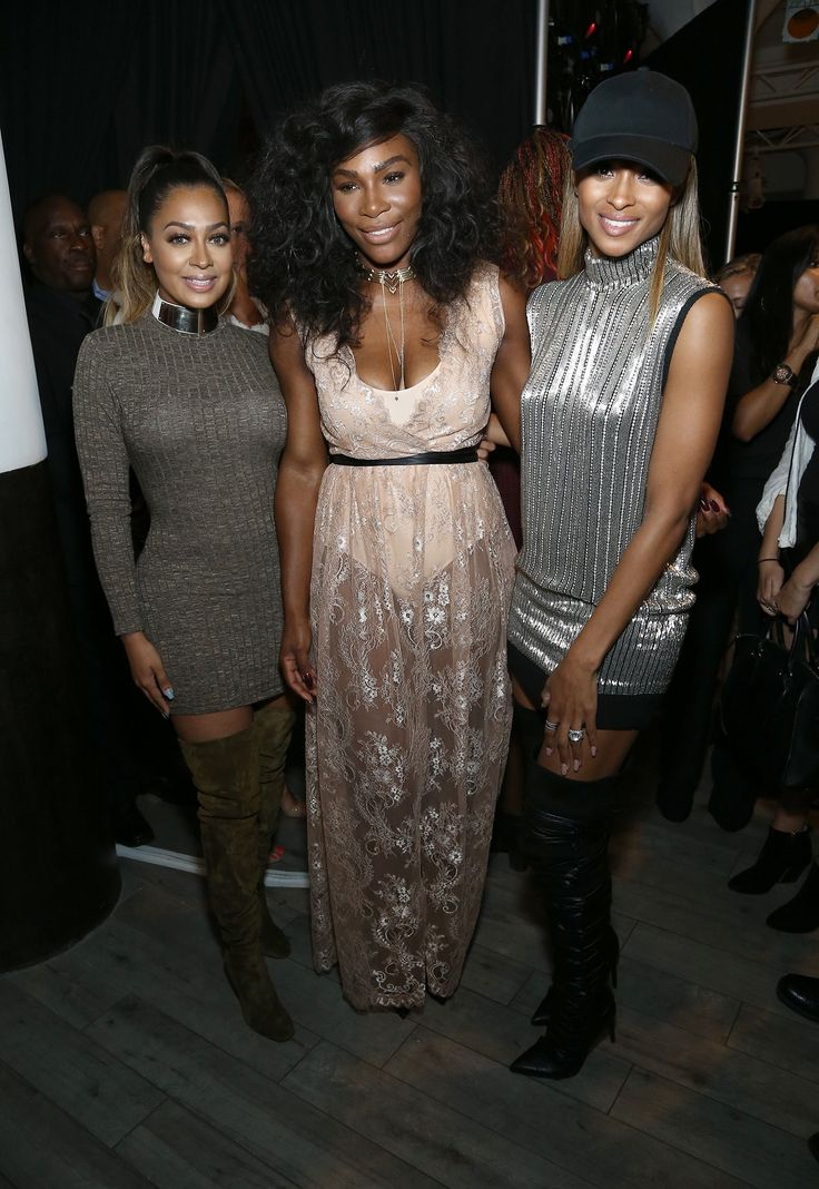 Ciara, La La Anthony, and Serena Williams prove that the best accessory for New York Fashion Week is a tight-knit and rather chic group of friends.