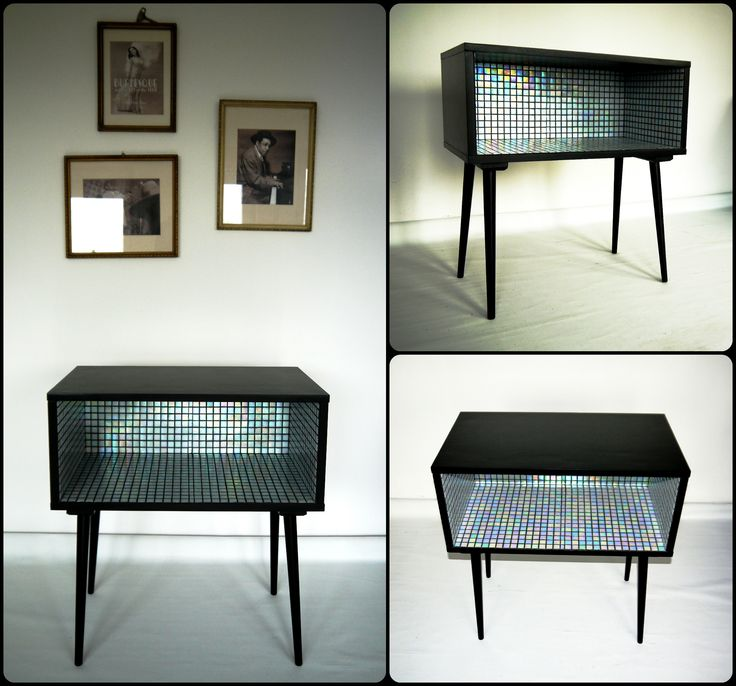"""Pearl"" – retro kisszekrény / mid-century side table"