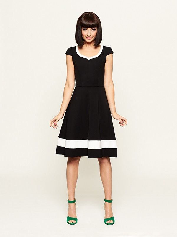 Review Australia   Arden Black and White Dress