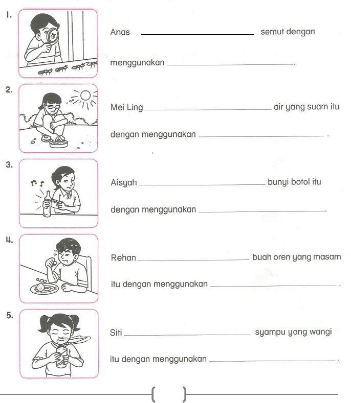 Soalan Sains Tahun 2 Ujian Mac Semakan Kssr 2018 Free Kindergarten Reading School Kids Activities Preschool Vocabulary