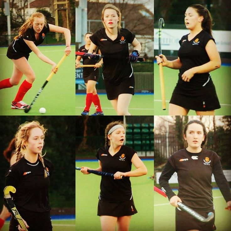 Senior 1 Girls ' Hockey team vs Rathdown in Leinster Schools Cup Competition