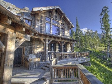 Big sky house rental montana cozy cabins pinterest for Big sky cabin rentals