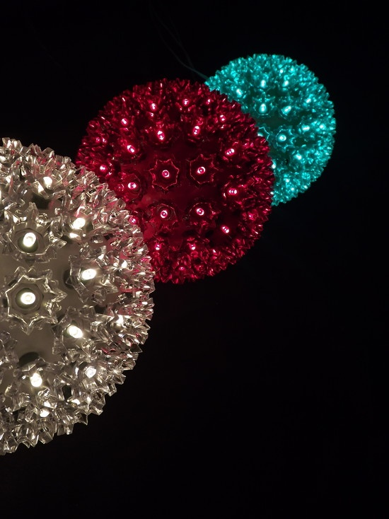 LED Globe Balls For Holiday Decorating, Weddings, Events And Hanging In  Trees From EnvironmentalLights