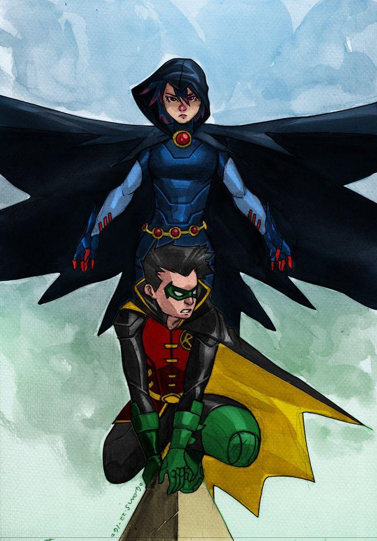 Raven Robin  Teen Titans-3351