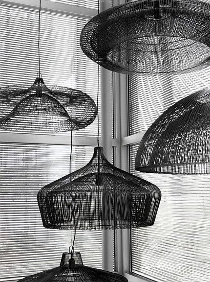 Black pendant lamps. Choose suspension lighting for your house or apartment. ask http://corneliavonhave.com