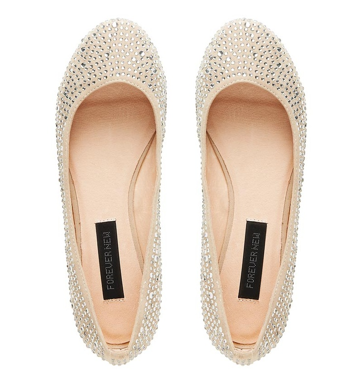 Heather Embellished Ballet - Forever New