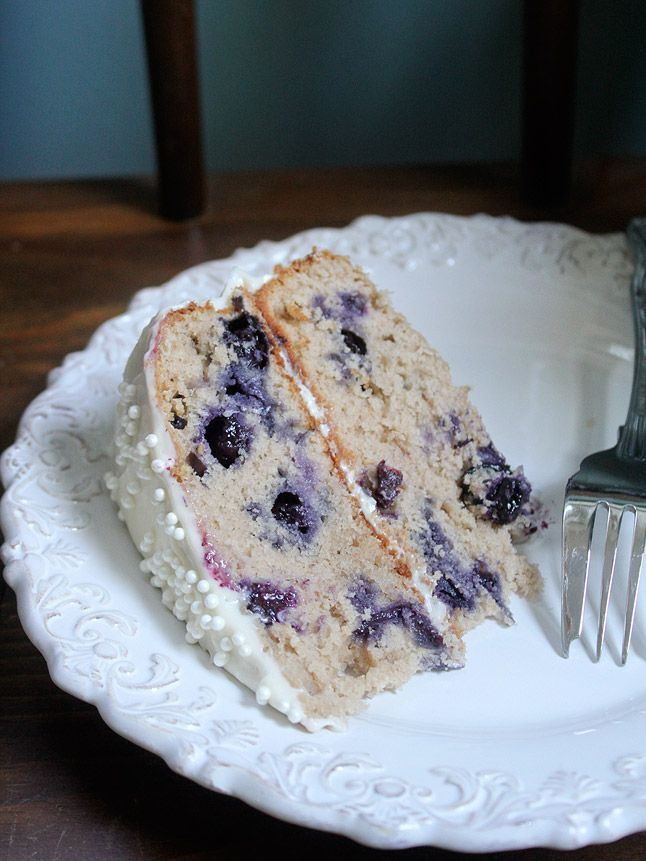 Blueberry Velvet Cake- I would add the blue food coloring to make it blue. I am going to try this.