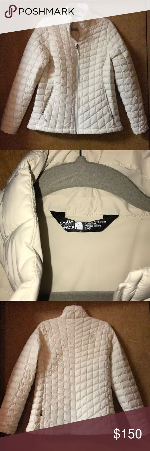 The North Face Stretch Thermoball Jacket Awesome vintage white colored thermoball jacket. Bought last year, wore a handful of times. Like new condition. The North Face Jackets & Coats Puffers