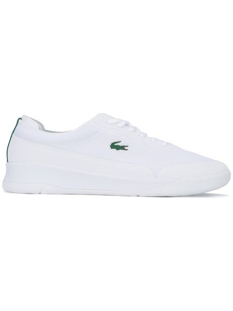 LACOSTE lace up sneakers. #lacoste #shoes #sneakers