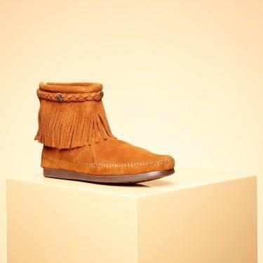 Sååå jädra snygga!!   Boots Hi top back zip - Minnetonka - Designers