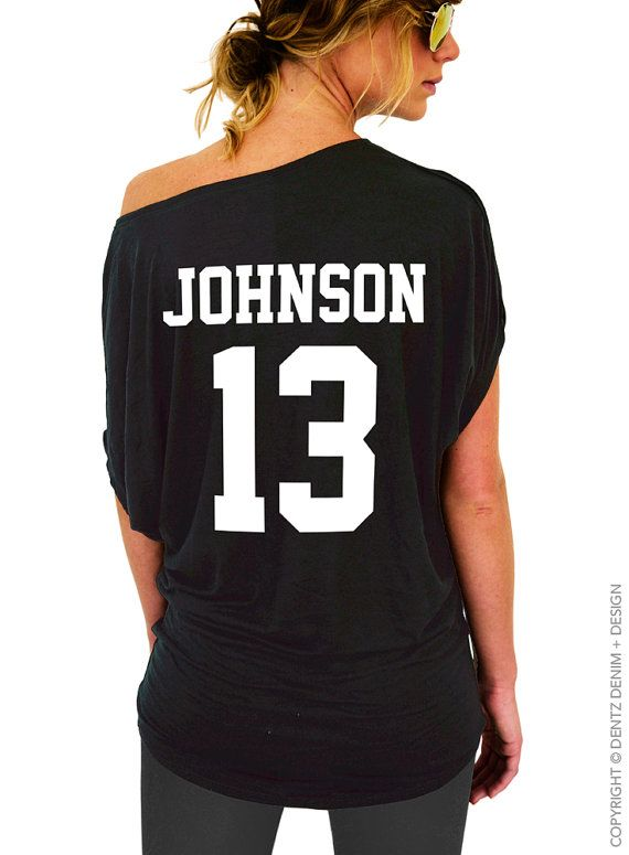 "Use coupon code ""pinterest"" Custom Sports Jersey Back Print - Player Name-Number: Football Baseball Basketball Softball - Add-On Listing DON'T Purchase Individually by DentzDesign"