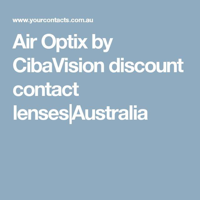 Air Optix by CibaVision discount contact lenses|Australia