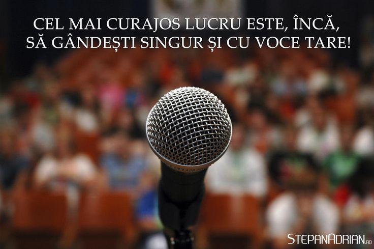 Urmărește-mă pentru doza zilnică de motivație: https://www.facebook.com/stepanadrian.ro