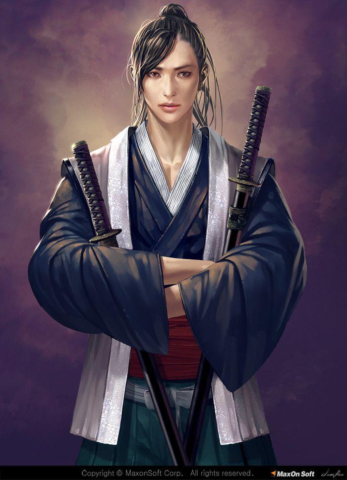 ArtStation - samurai, Donfoo .