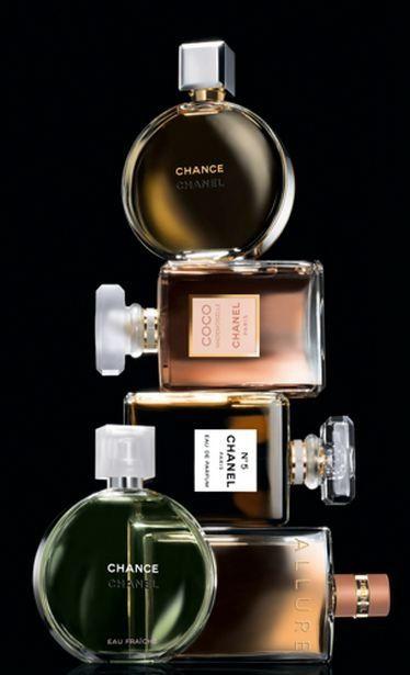 Chanel Perfumes - tan propio de una dama y femenino                                                                                                                                                                                 More
