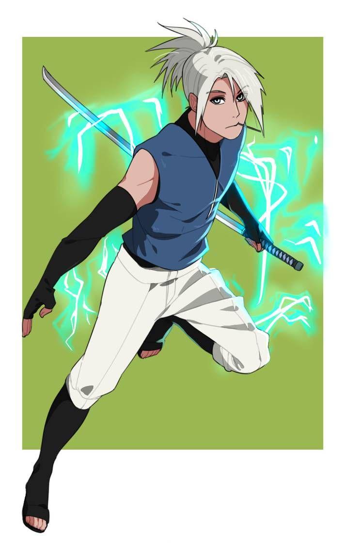 Comm Platinumqr By Na Nedam Anime Ninja Naruto Oc Characters Naruto Art
