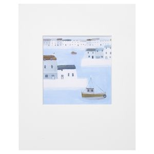 Harbour Walls Print